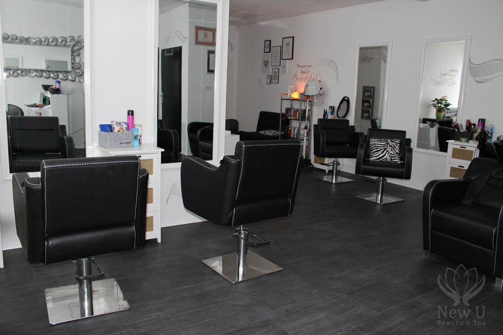 new u frizerski salon